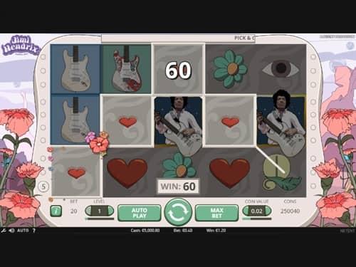 Jimi Hendrix Slot
