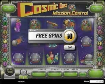 Cosmic Quest I: Mission Control Slot