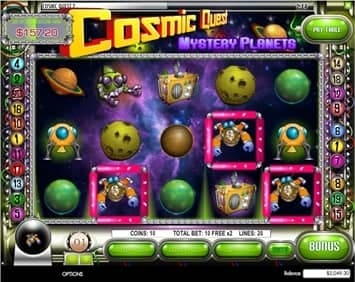 Spiele Cosmic Quest Mystery Planets - Video Slots Online