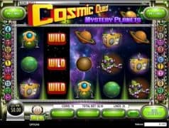 Cosmic Quest II: Mystery Planet Slot