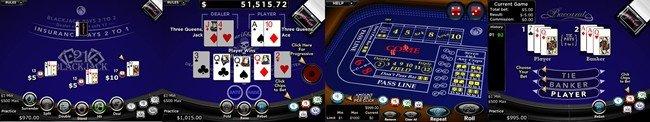 Slots.lv Table Games