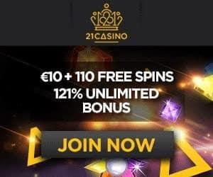 21 Casino No Deposit Free Spins Combo