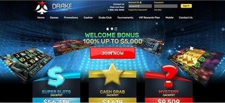 Drake Casino Promotions and New Look!