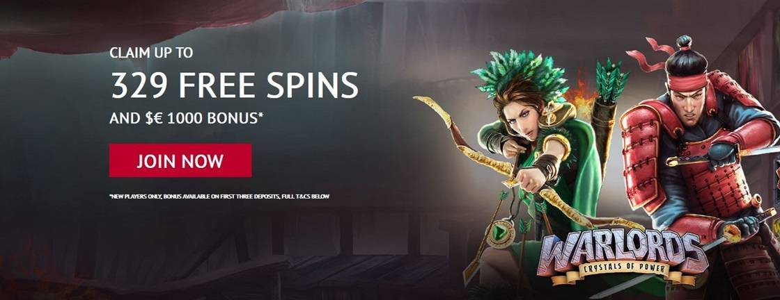 Warlord Crystal of Power Free Spins
