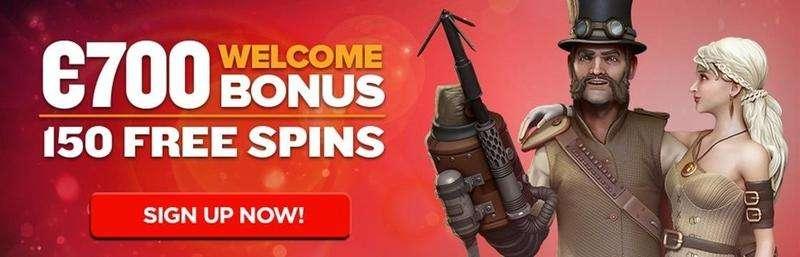 €700 Bonus plus 150 Free Spins – Next Casino