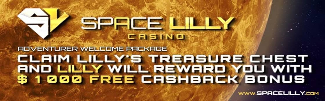 Space Lilly Cashback Bonus