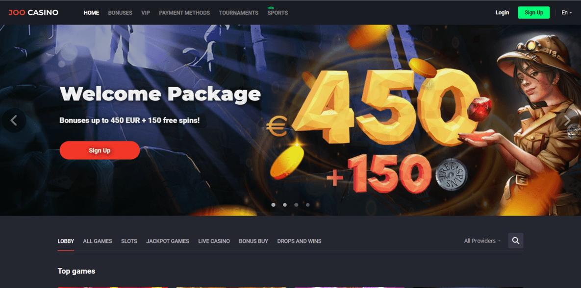 Joo Casino Website