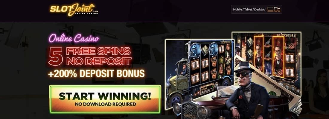 SlotJoint Free Spins