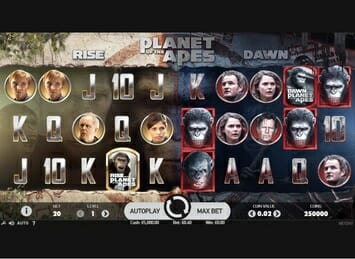Planet of the Apes Slot Game