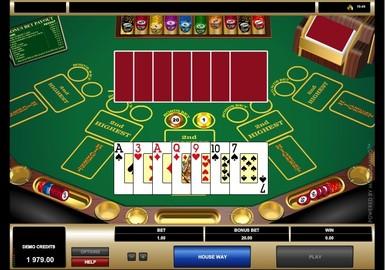 Pow Gow Poker by Microgaming