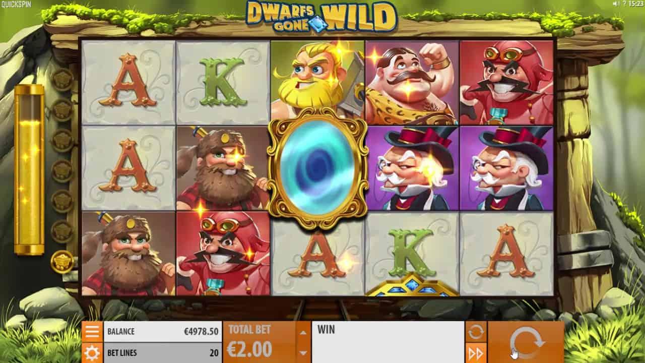 Dwarfs Gone Wild Magic Mirror
