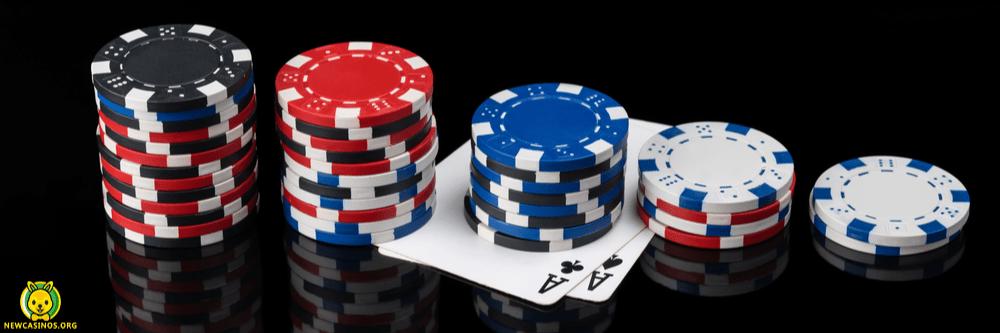 Pyramid Poker Chips