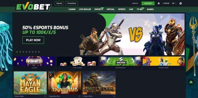 Evobet Casino Website