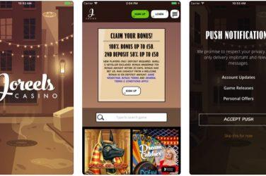 Joreels Casino App
