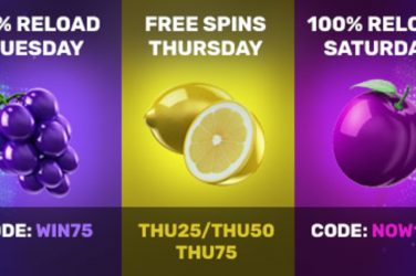 Drake Casino Reload Bonus