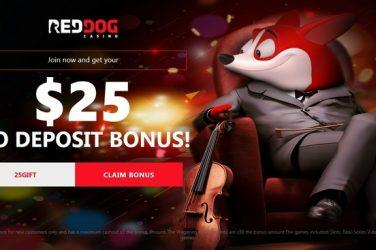 Red Dog No Deposit Bonus