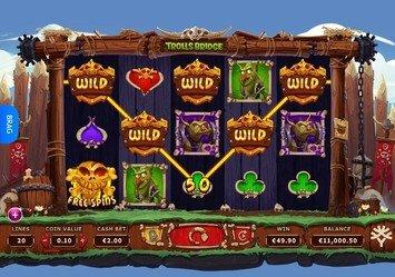 Trolls Bridge Slot Game