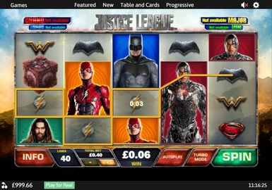 Justice League by Playtech