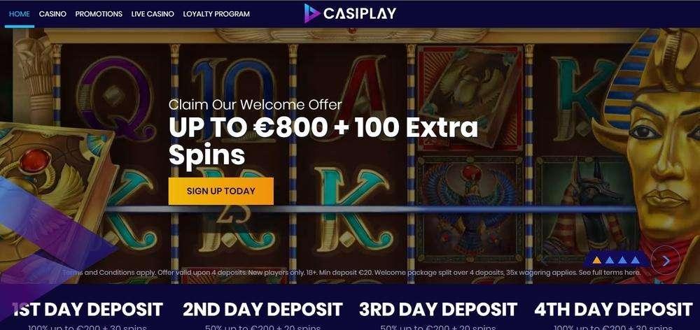 Casiplay Casino Website