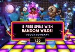 Free Spins and Random Wilds