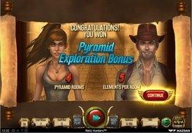Pyramid Exploration Bonus