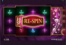 Casino Queen RE-SPIN Feature