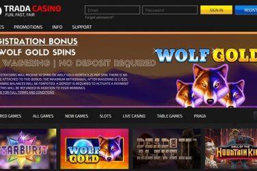 Trada Casino No Deposit Spins
