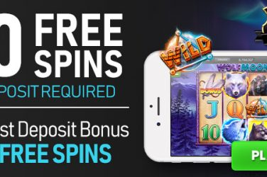 20 Free Spins on Wolf Moon Rising