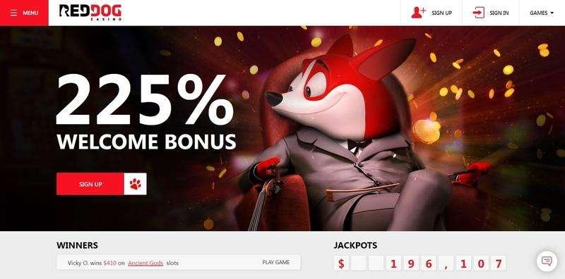 Red Dog Casino Website