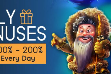 Daily Bonuses at CyberSpins