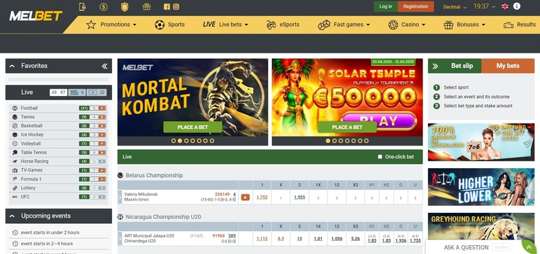 MelBet Casino & Sportsbook