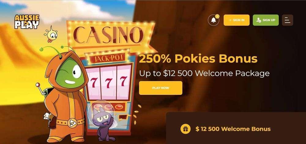 Aussie Play Casino Website
