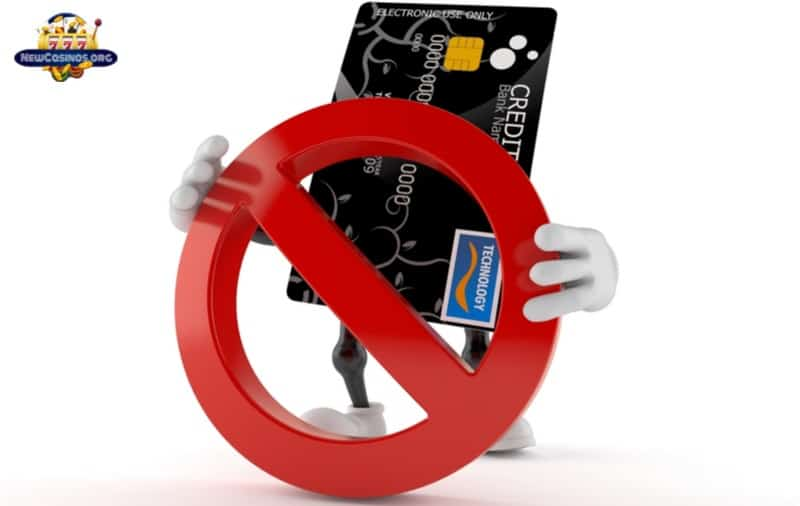 banned the use of credit cards at all UK gambling sites