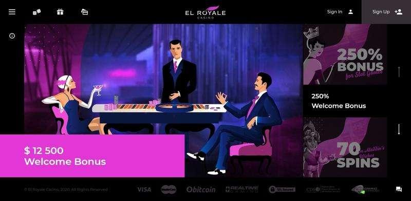 EL Royale Casino Website