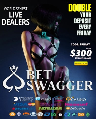 Bet Swagger - Sexy Live Dealers