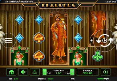 Flappers Slot by StakeLogic