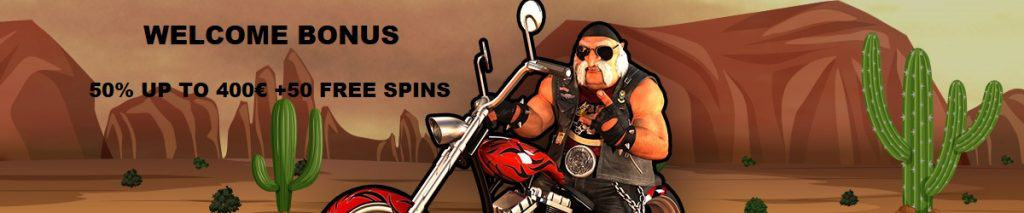 Sons of Slots Casino Welcome Bonus