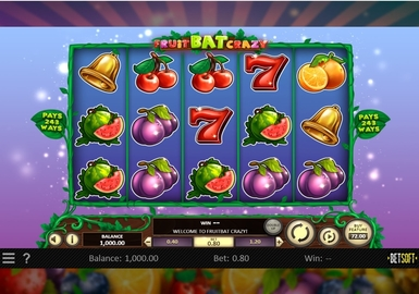 FruitBat Crazy Slot Game