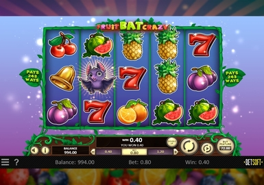 FruitBat Crazy Slot by Betsoft