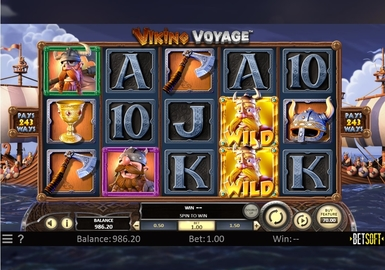 Viking Voyage by Betsoft