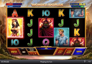 Wonder Woman Slot Game