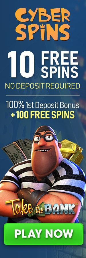 CyberSpins - 10 Free Spins
