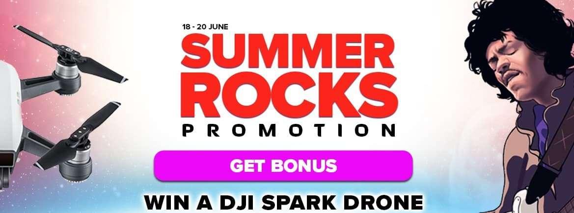 Summer Rocks Promo at Next Casino