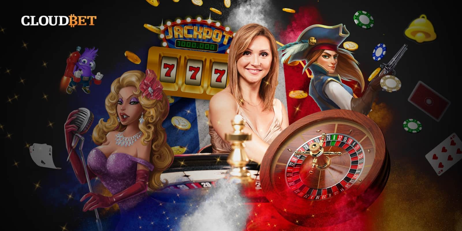 Pariez, jouez et gagnez – Cloudbet casino est maintenant disponible en français