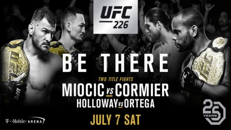 UFC 226 Betting Odds and Predictions