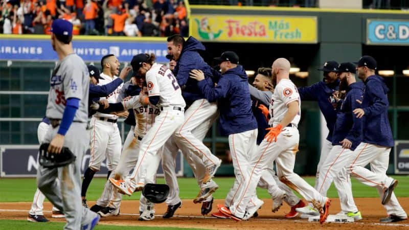 Updated Betting Odds to Win 2018 World Series