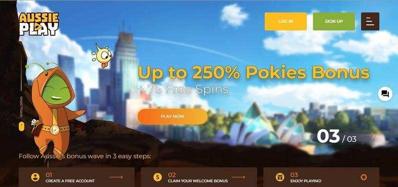 Aussie Play Casino Welcome Bonus