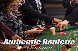 Authentic Original Live Roulette
