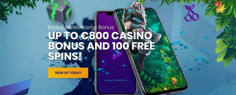 Casiplay Casino Welcome Package