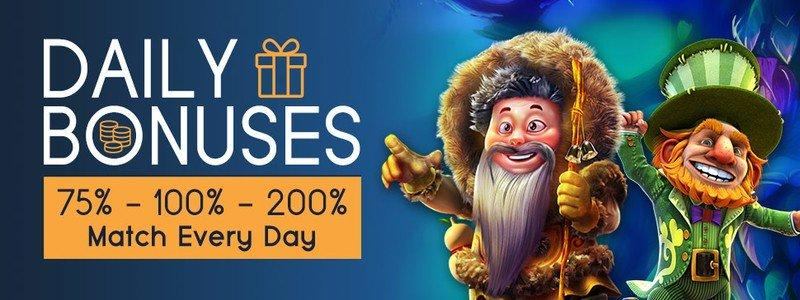Get Daily Bonuses at CyberSpins
